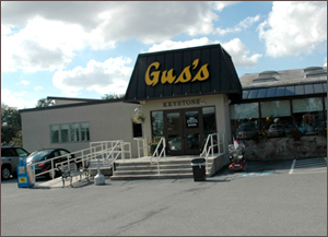 Gus's Keystone Restaurant on W. Main St, Mt Joy, PA